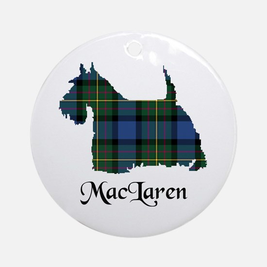 Terrier - MacLaren Ornament (Round)