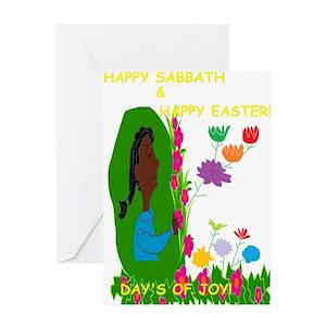 Sabbath greeting cards cafepress m4hsunfo