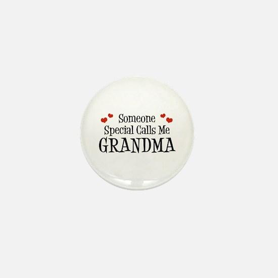 Someone Special Calls Me Grandma Mini Button