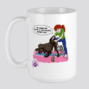 Groomer Humor - Reluctant Bat Large Mug