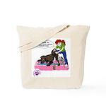 Groomer Humor - Reluctant Bat Tote Bag