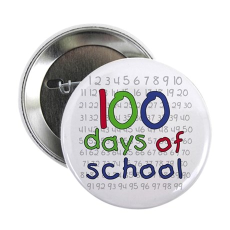 Numbers 100 Days Button