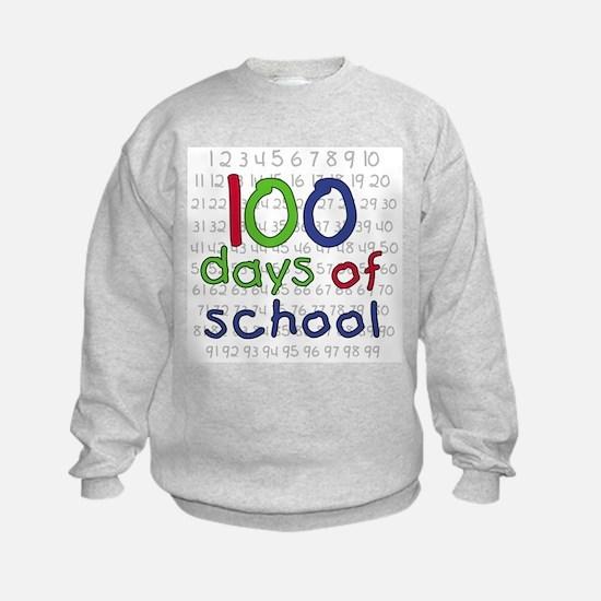 Numbers 100 Days Sweatshirt
