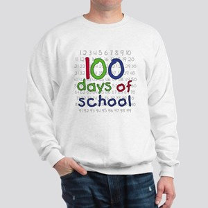 Numbers 100 Days Sweatshirt