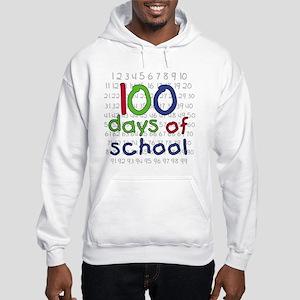 Numbers 100 Days Hooded Sweatshirt