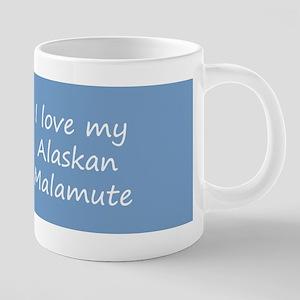 Alaskan Malamute 20 oz Ceramic Mega Mug