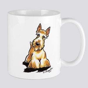 Wheaten Scottie Art Mug