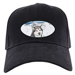 Alaskan Malamute Black Cap with Patch