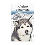 Alaskan Malamute Sticker (Rectangle)
