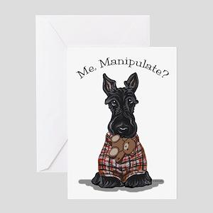 Scottie Manipulate Greeting Card