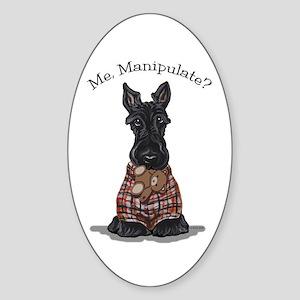 Scottie Manipulate Sticker (Oval)