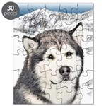 Alaskan Malamute Puzzle