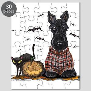 Halloween Scottie Puzzle