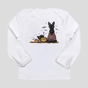 Halloween Scottie Long Sleeve Infant T-Shirt