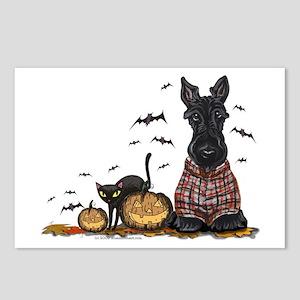 Halloween Scottie Postcards (Package of 8)