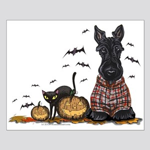 Halloween Scottie Small Poster