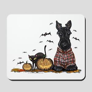 Halloween Scottie Mousepad