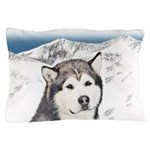 Alaskan Malamute Pillow Case
