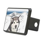 Alaskan Malamute Rectangular Hitch Cover