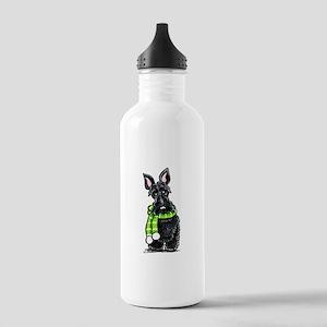 Scottie Scarf Stainless Water Bottle 1.0L