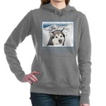 Alaskan Malamute Women's Hooded Sweatshirt