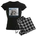 Alaskan Malamute Women's Dark Pajamas