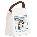 Alaskan Malamute Canvas Lunch Bag