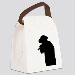 Male Singer Canvas Lunch Bag