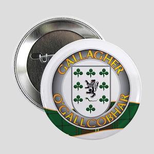 """Gallagher Clann 2.25"""" Button"""