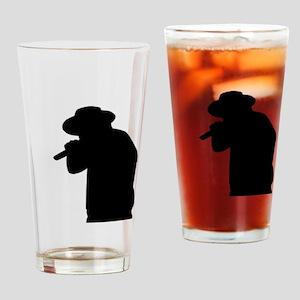 Male Singer Drinking Glass