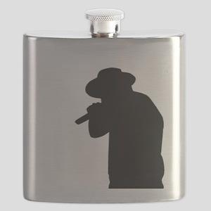Male Singer Flask