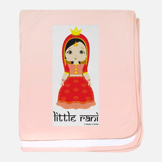 Little Rani baby blanket