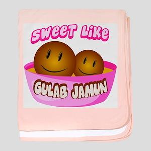 Gulab Jamun baby blanket