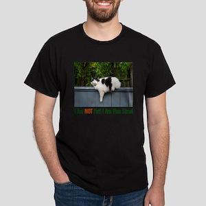 Plus Sized Cat Dark T-Shirt