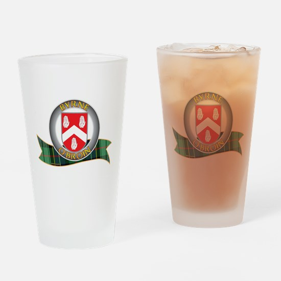 Byrne Clann Drinking Glass