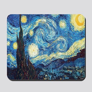 starry night van gogh Mousepad
