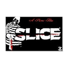 SLICE BLACK N RED Wall Decal