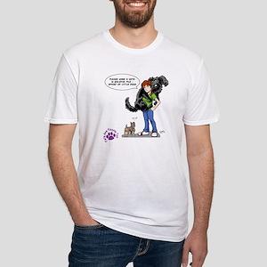 Groomer Humor - My Hero! Fitted T-Shirt