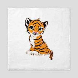 Baby Tiger Cub Queen Duvet