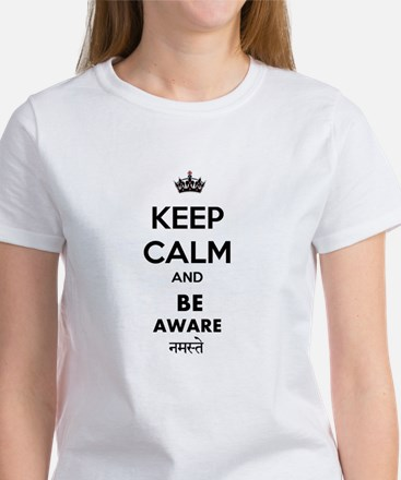 BE AWARE WHITE T-Shirt