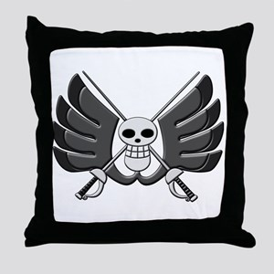 BW Monochrome Throw Pillow