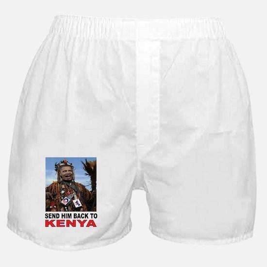 BARACK GO BACK Boxer Shorts