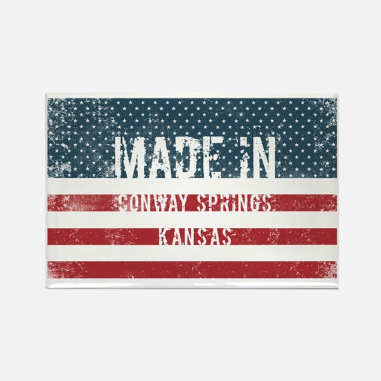Made in Conway Springs, Kansas Magnets