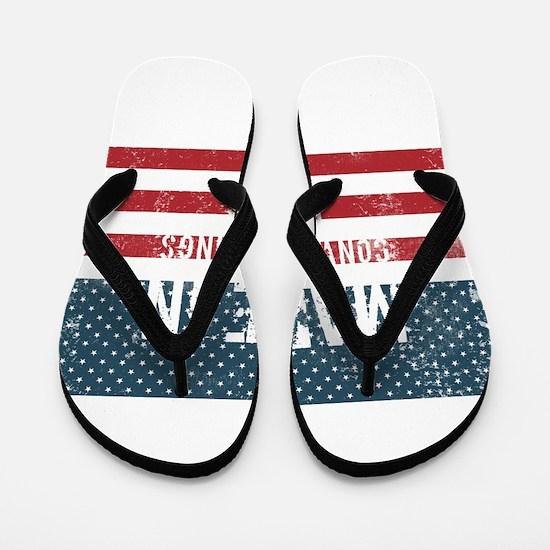 Made in Conway Springs, Kansas Flip Flops