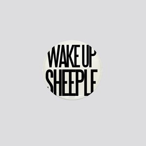 Wake up Sheeple Mini Button