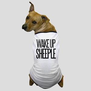 Wake up Sheeple Dog T-Shirt