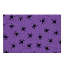 Purple Spider Pattern Postcards (Package of 8)