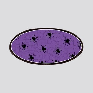 Purple Spider Pattern Patches
