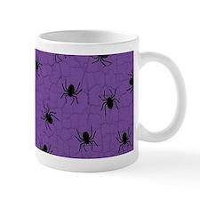 Purple Spider Pattern Mugs