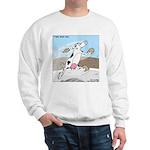 Triple Sock Cow Sweatshirt
